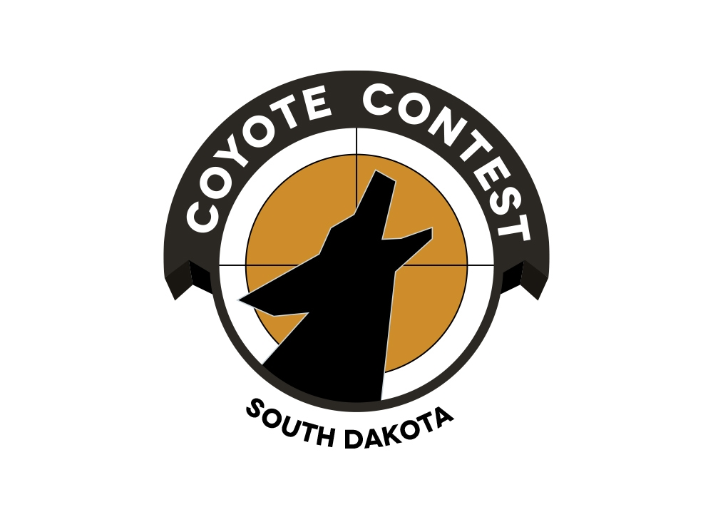 Coyote Contest logo south dakota version