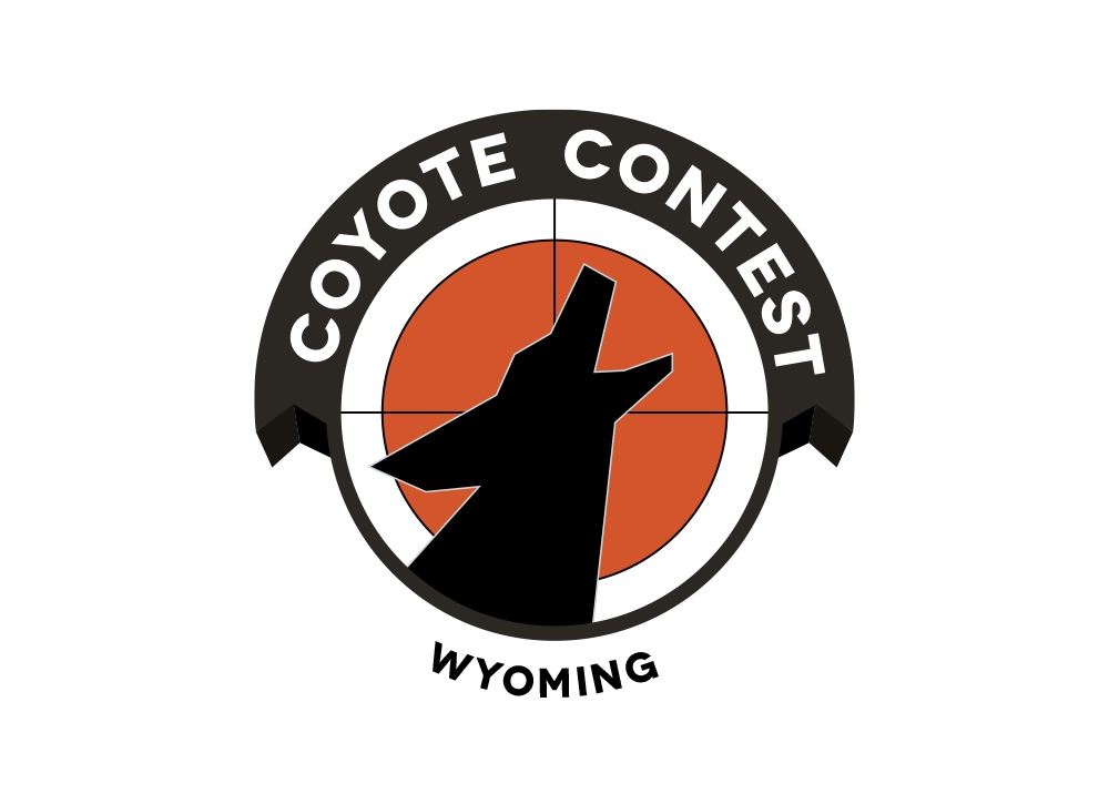Coyote Contest logo wyoming version