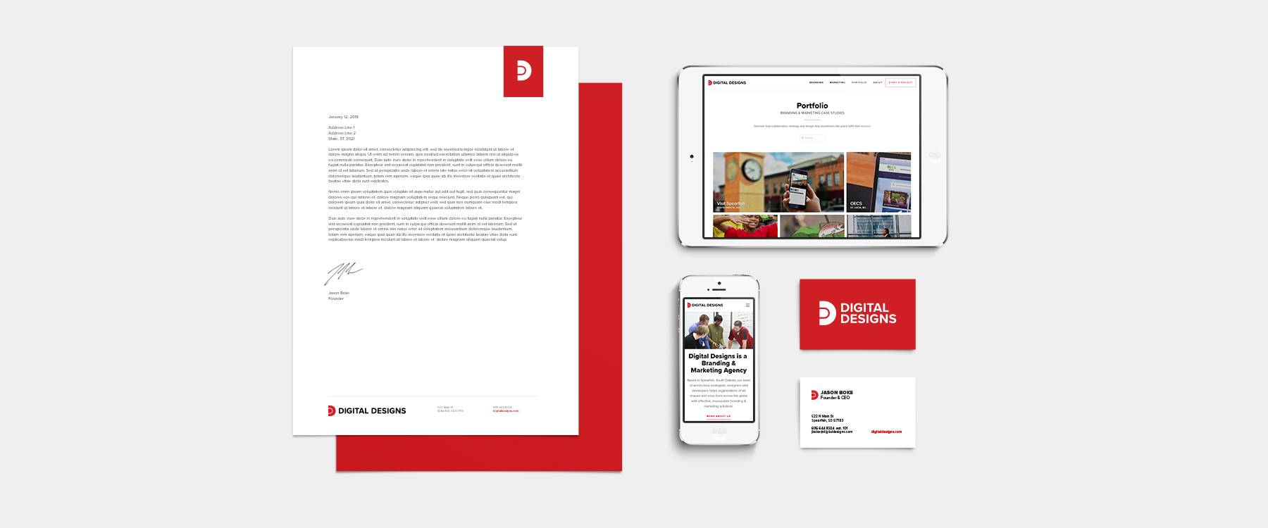 Digital Designs' New Brand Identity