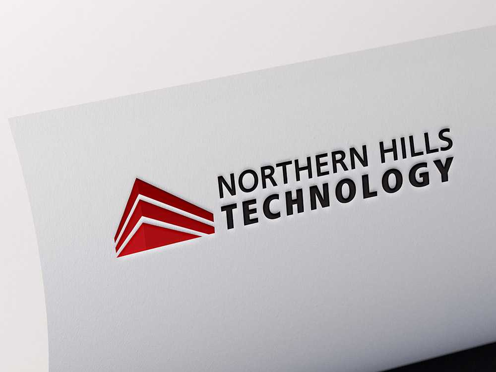 Northern Hills Technology logo on paper