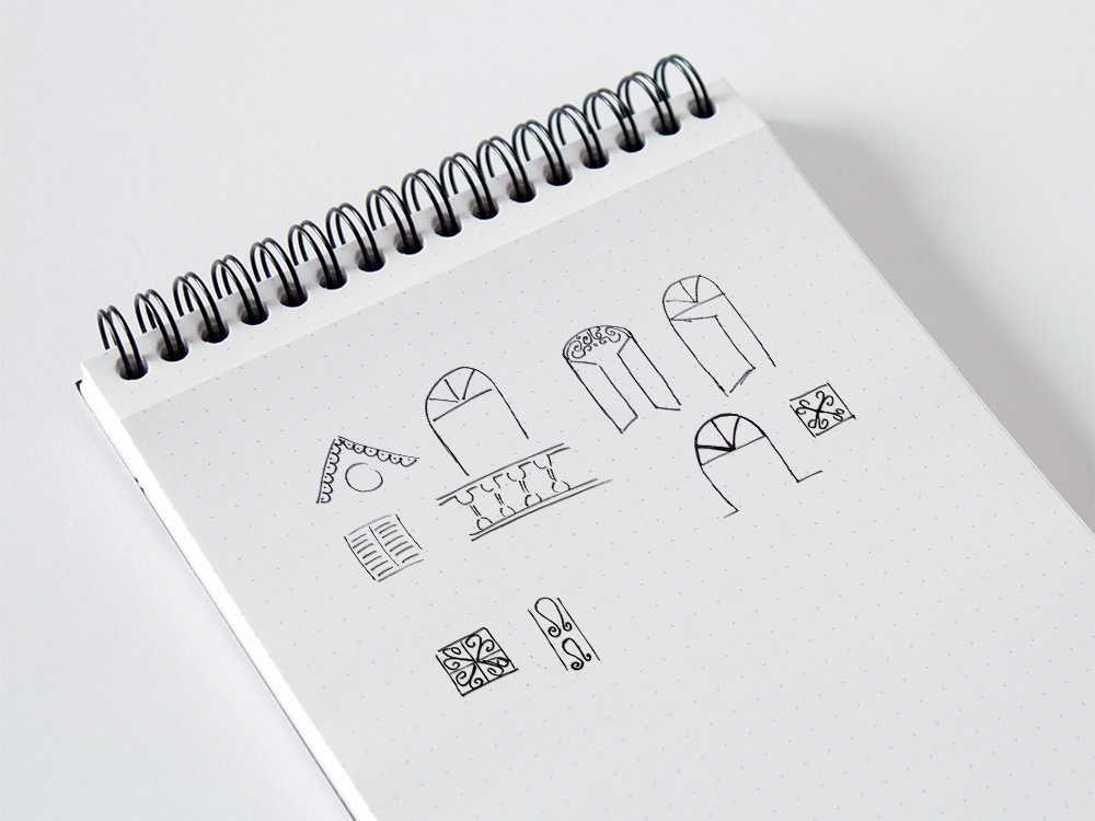 Shop Village Sketches