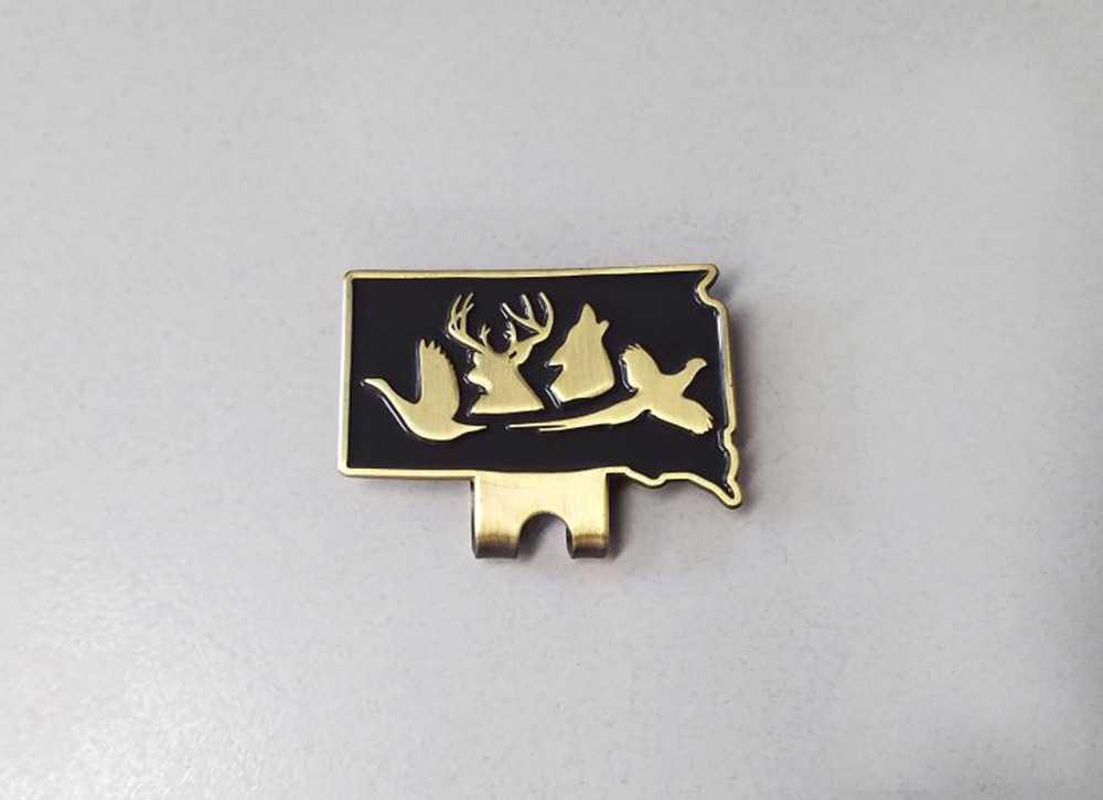 South Dakota Hunting logo hat/money clip