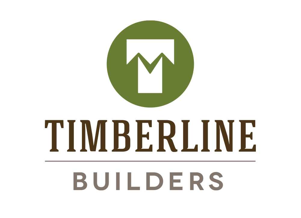 Timberline Builders logo with centered text