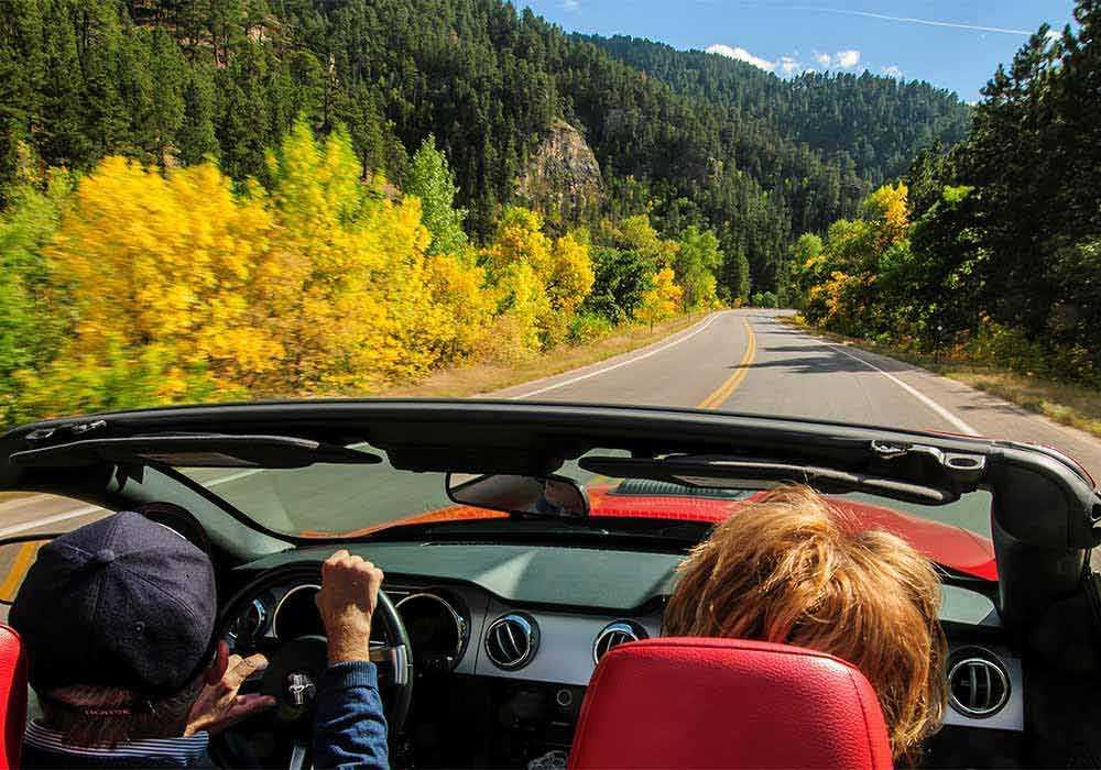 Spearfish canyon scenic drive