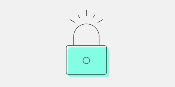 SSL Certificate Illustration of a Padlock